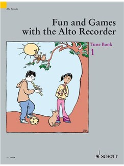 Fun and Games with the Alto Recorder, Tune Book 1 Books | Alto (Treble) Recorder