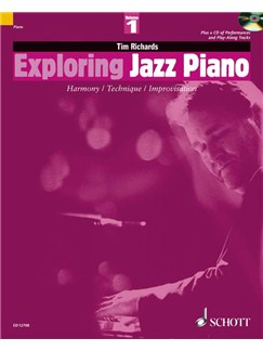 Exploring Jazz Piano 1 Books and CDs | Piano