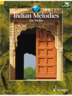 Indian Melodies (Book/CD) Books and CDs | Violin