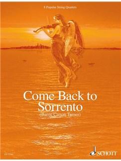 Come Back To Sorrento Popular String Quartets 8 Books |