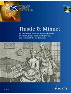 Thistle And Minuet Books and CDs | Cello, Flute, Oboe, Violin, Piano Accompaniment, Soprano (Descant) Recorder