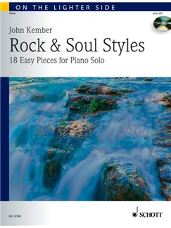 John Kember: Rock & Soul Styles Books and CDs | Piano