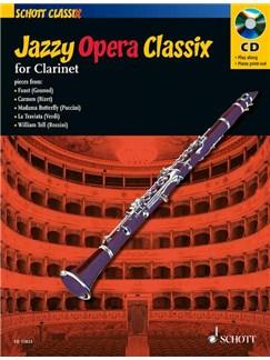 Jazzy Opera Classix: Clarinet Books and CDs | Clarinet