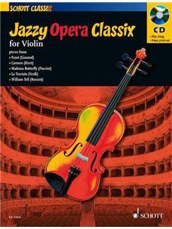 Jazzy Opera Classix - Violin Books and CDs | Violin