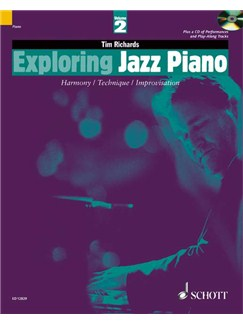 Exploring Jazz Piano 2 (Book/CD) Books and CDs | Piano