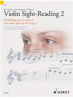 John Kember/Marguerite Wilkinson: Violin Sight-Reading 2 Books | Violin