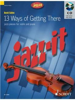 David Cullen: 13 Ways Of Getting There (Violin) Books   Violin, Piano Accompaniment
