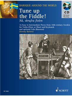 Tune Up The Fiddle! Books and CDs | Flute (or Violin or Oboe) and Keyboard with optional Cello (or Bassoon)