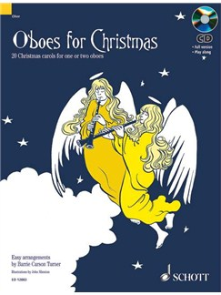 Oboes For Christmas Books | Oboe or Oboe Duet
