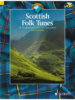 Scottish Folk Tunes Books and CDs | Accordion