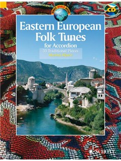 Eastern European Folk Tunes For Accordion Bk/CD Books and CDs | Accordion