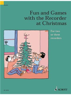 Fun And Games With The Recorder At Christmas Books | Recorder Ensemble