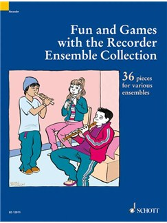 Fun And Games With The Recorder Ensemble Collection Books | Recorder Ensemble