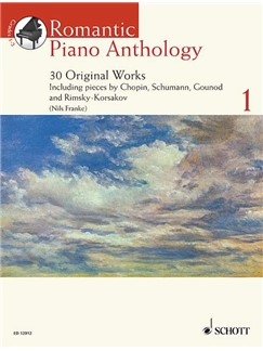 Romantic Piano Anthology Volume 1 - 30 Original Works Books and CDs | Piano