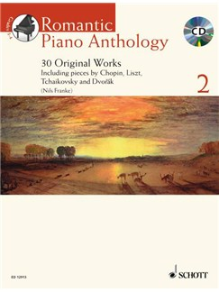 Romantic Piano Anthology Volume 2 - 30 Original Works Books and CDs | Piano