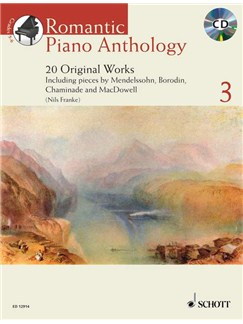 Nils Franke: Romantic Piano Anthology Vol 3 Books and CDs | Piano