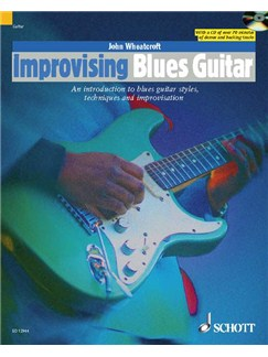 John Wheatcroft: Improvising Blues Guitar (Book and CD) Books and CDs | Electric Guitar