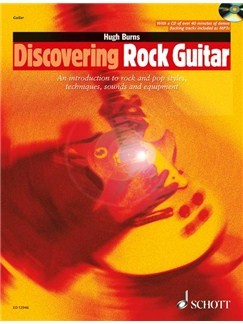 Hugh Burns: Discovering Rock Guitar (Book and CD) Books and CDs | Guitar, Electric Guitar