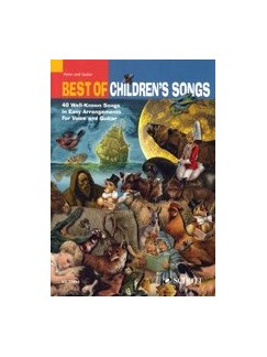 Best Of Children's Songs Books | Voice, Guitar