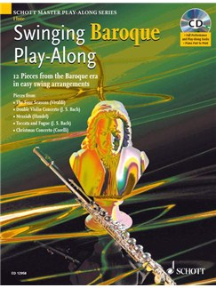 Swinging Baroque Play-Along (Flute) Books and CDs | Flute