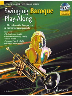 Swinging Baroque Play Along Trumpet Bk/Cd Books | Trumpet