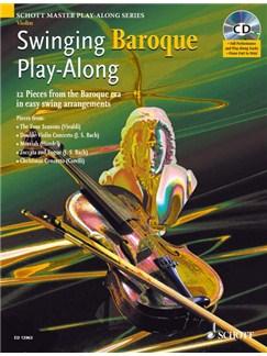 Swinging Baroque Play Along Violin Bk/Cd Books | Violin