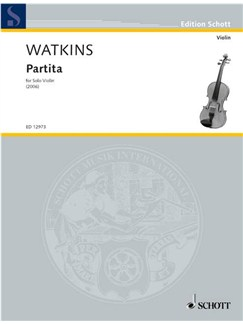 Huw Watkins: Partita Books | Violin