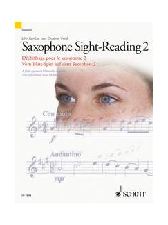 Graeme Vinall/John Kember: Saxophone Sight-Reading - Volume 2 Books | Saxophone