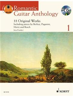 Romantic Guitar Anthology Volume 1 - 33 Original Works Books and CDs | Guitar