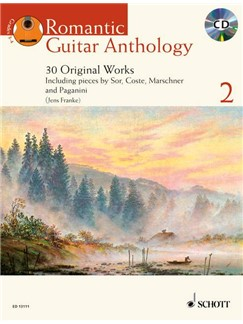 Romantic Guitar Anthology Volume 2 - 30 Original Works Books and CDs | Guitar