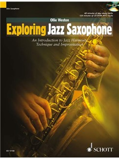 Ollie Weston: Exploring Jazz Saxophone Books and CDs   Saxophone