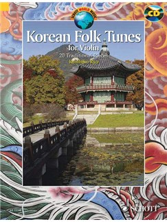 Kunihiko Ryo: Korean Folk Tunes Books and CDs | Violin