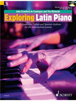 Tim Richards/John Crawford: Exploring Latin Piano Books and CDs | Piano