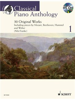 Nils Franke: Classical Piano Anthology Bd 1 Books and CDs | Piano