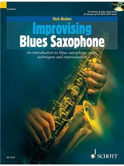 Nick Beston: Improvising Blues Saxophone Books and CDs | Saxophone