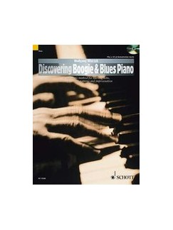Discovering Boogie & Blues Piano (Book/CD) Books and CDs | Piano