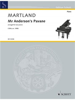 Steve Martland: Mr Anderson's Pavane Books | Two Pianos