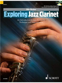Ollie Weston: Exploring Jazz Clarinet Books and CDs | Clarinet