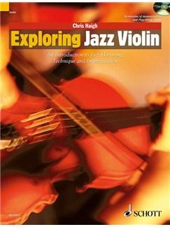 Chris Haigh: Exploring Jazz Violin Books and CDs | Violin