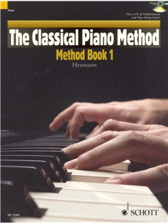 Hans-Günter Heumann: The Classical Piano Method - Method Book 1 Books and CDs | Piano