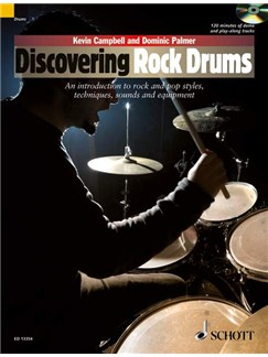 Discovering Rock Drums Books and CDs | Drums