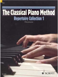 Hans-Günter Heumann: The Classical Piano Method - Repertoire Collection 1 Books | Piano