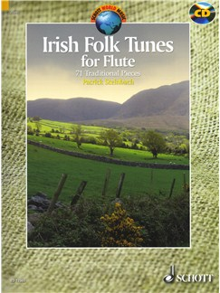 Irish Folk Tunes For Flute - 71 Traditional Pieces Books and CDs | Flute, Recorder, Tin Whistle