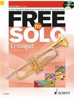 Rob Hughes/Paul Harvey: Free To Solo - Trumpet Books and CDs | Trumpet