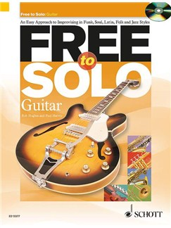 Rob Hughes/Paul Harvey: Free To Solo - Guitar Books and CDs | Guitar