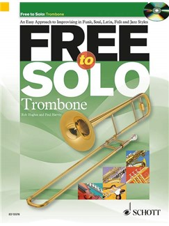 Rob Hughes/Paul Harvey: Free To Solo - Trombone Books and CDs | Trombone