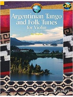 Ros Stephen: Argentinian Tango And Folk Tunes For Violin Books and CDs | Violin