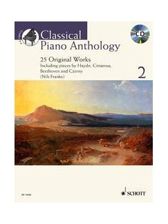 Classical Piano Anthology - Volume 2 Books and CDs | Piano