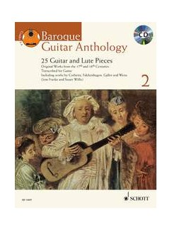 Baroque Guitar Anthology - Volume 2 Books and CDs | Classical Guitar, Baroque Guitar