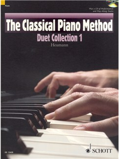 Hans-Günter Heumann: The Classical Piano Method - Duet Collection 1 Books and CDs | Piano Duet